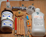 A few sculpting tools