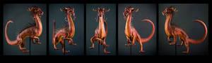 Dragon Sculpt Turnaround