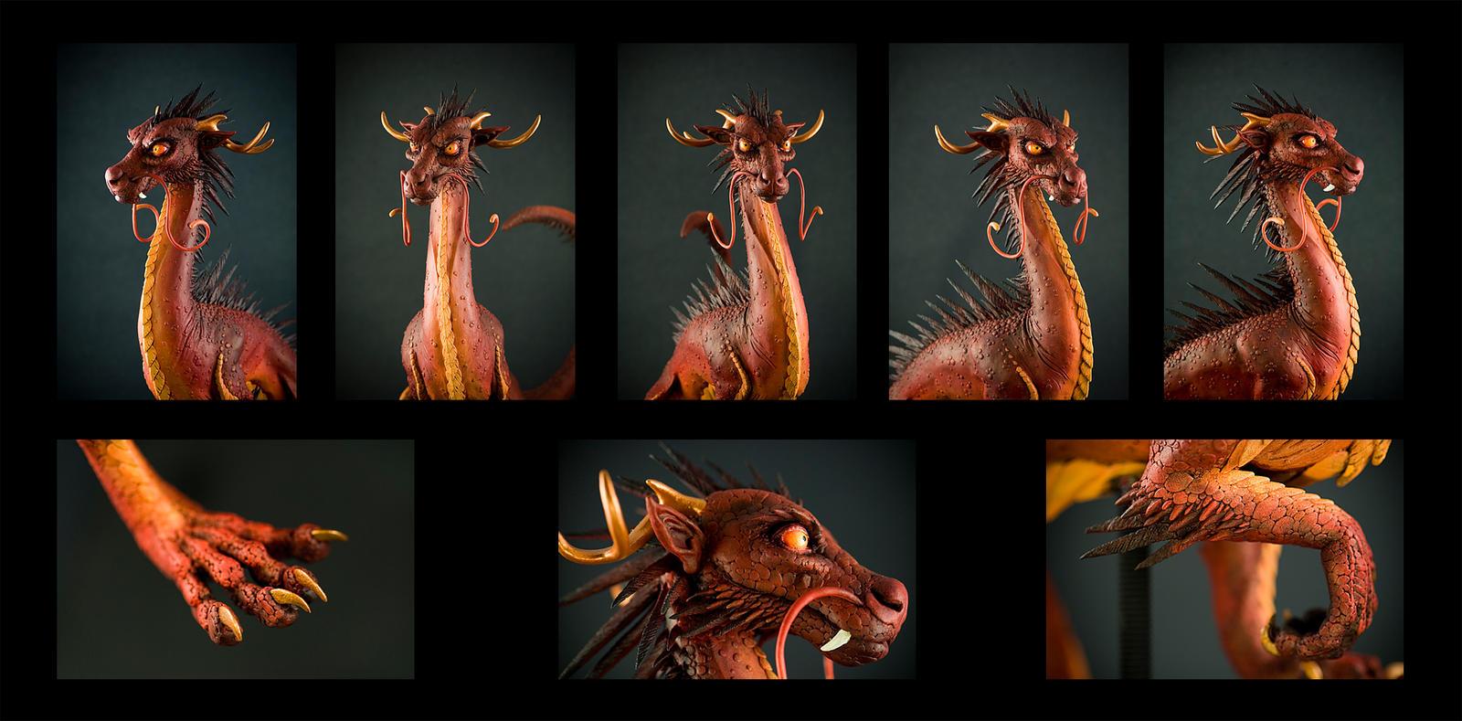 Dragon Sculpt Details by rgyoung