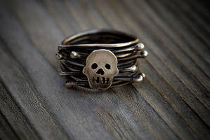 Skull and Bones Ring by rgyoung
