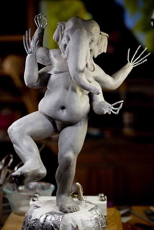 Ganesha WIP II by rgyoung
