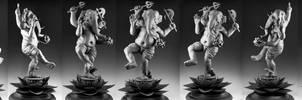 Ganesha: Unpainted, Turnaround