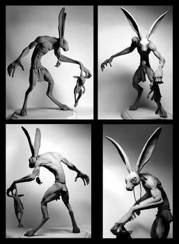 The Black Rabbit: Unpainted
