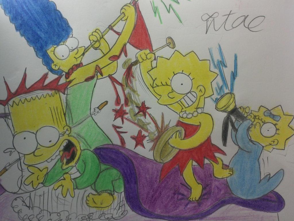 Wakey Wakey,Bart!! by komi114
