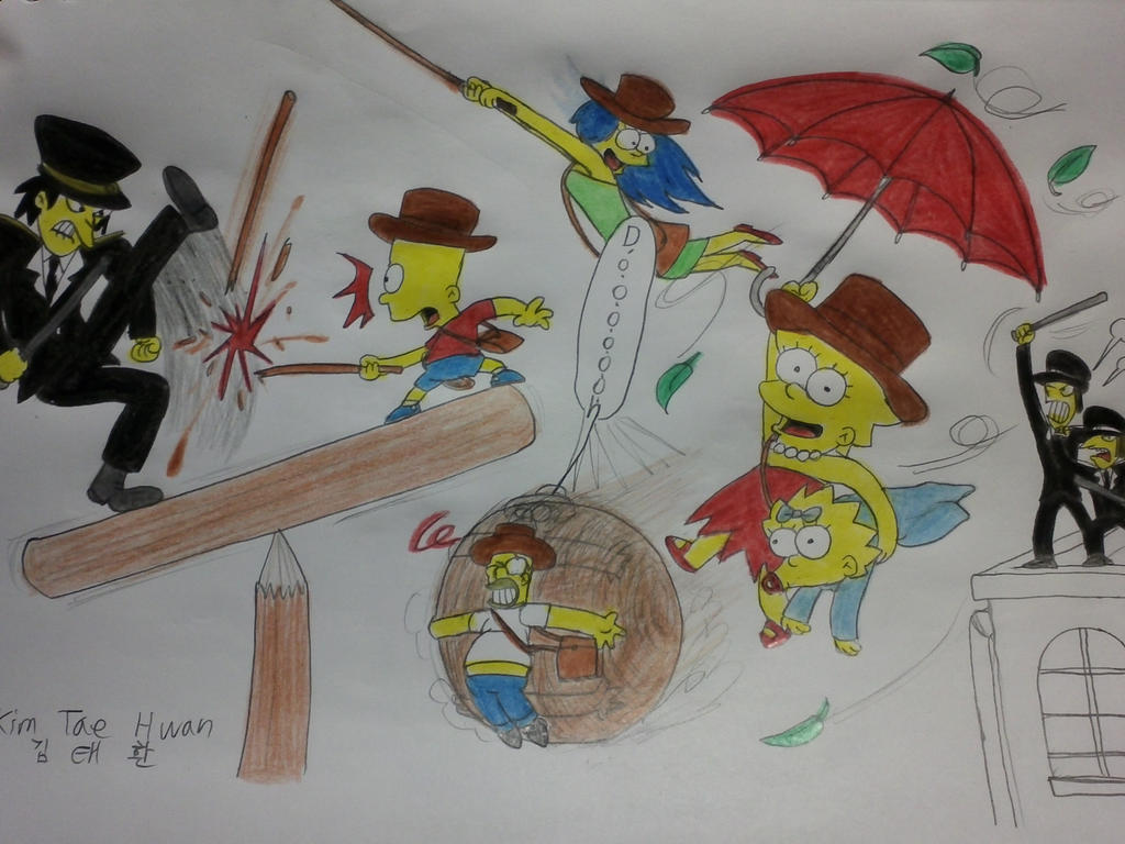 The simpsons: Indiana Simpsons!! by komi114