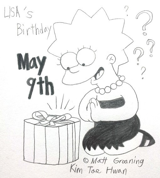 Lisa Simpson's Birthday! by komi114