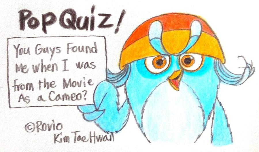 Willow's Pop Quiz! by komi114
