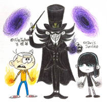 Count Quantum the Dimension Magician by komi114