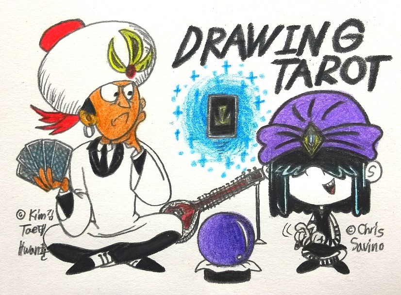 Drawing Tarot by komi114