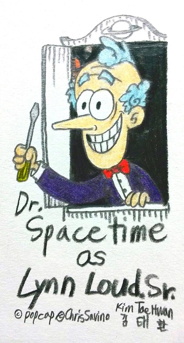 Lynn Loud Sr. as Dr.Spacetime by komi114