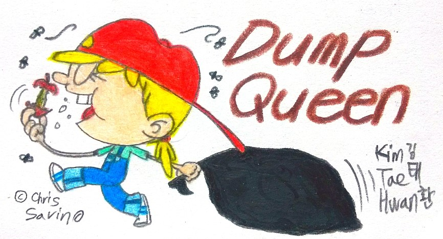 Lana the Dump Queen! by komi114