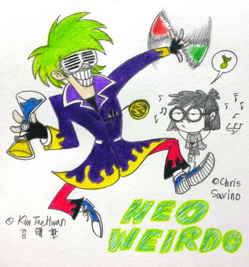 Dancing Weirdo by komi114