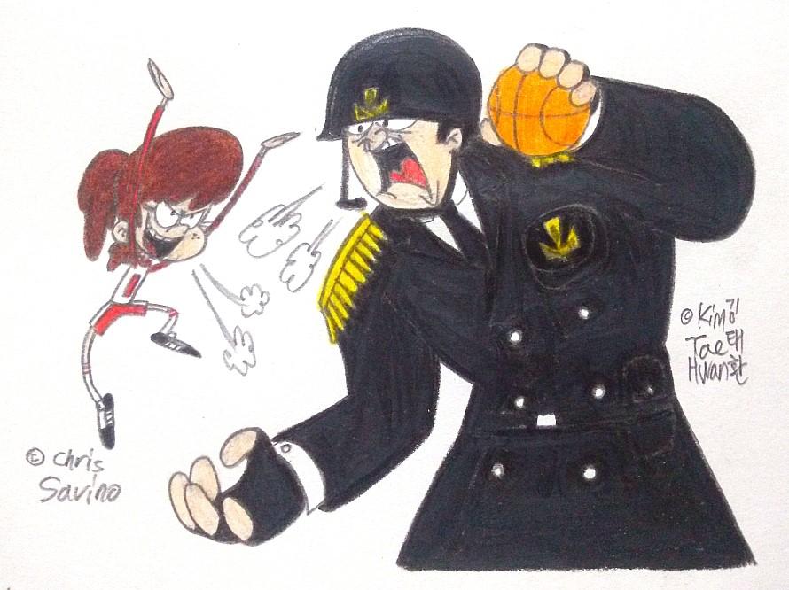 Two Buff Monsters by komi114