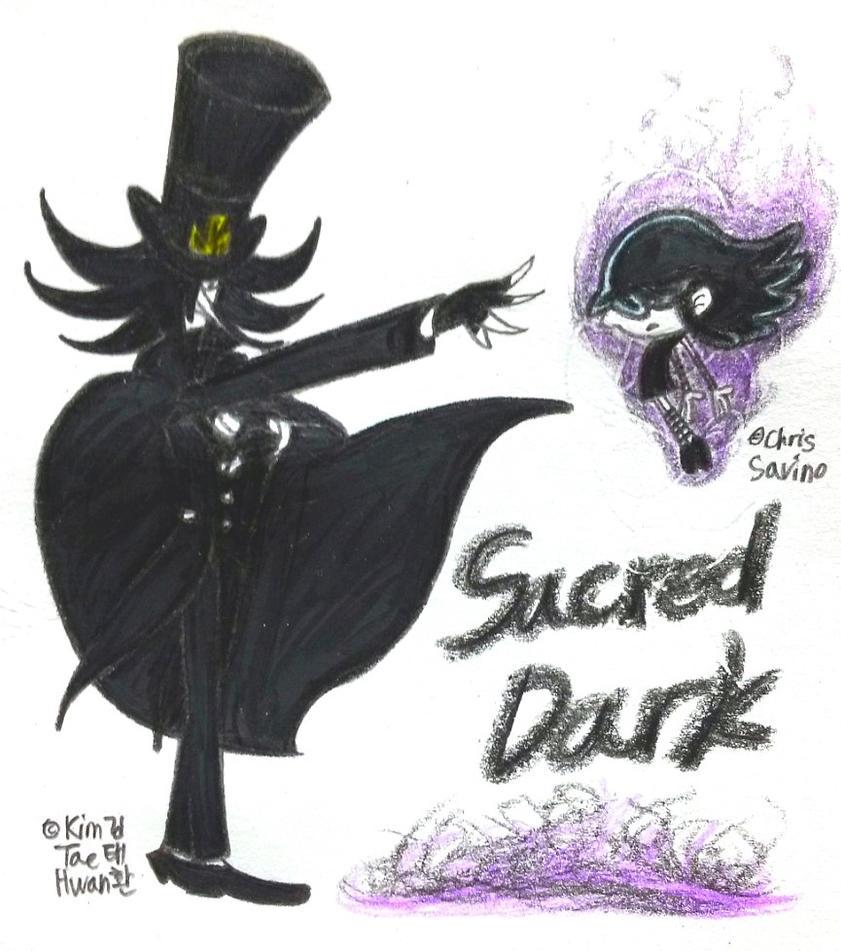 Sacred Dark by komi114