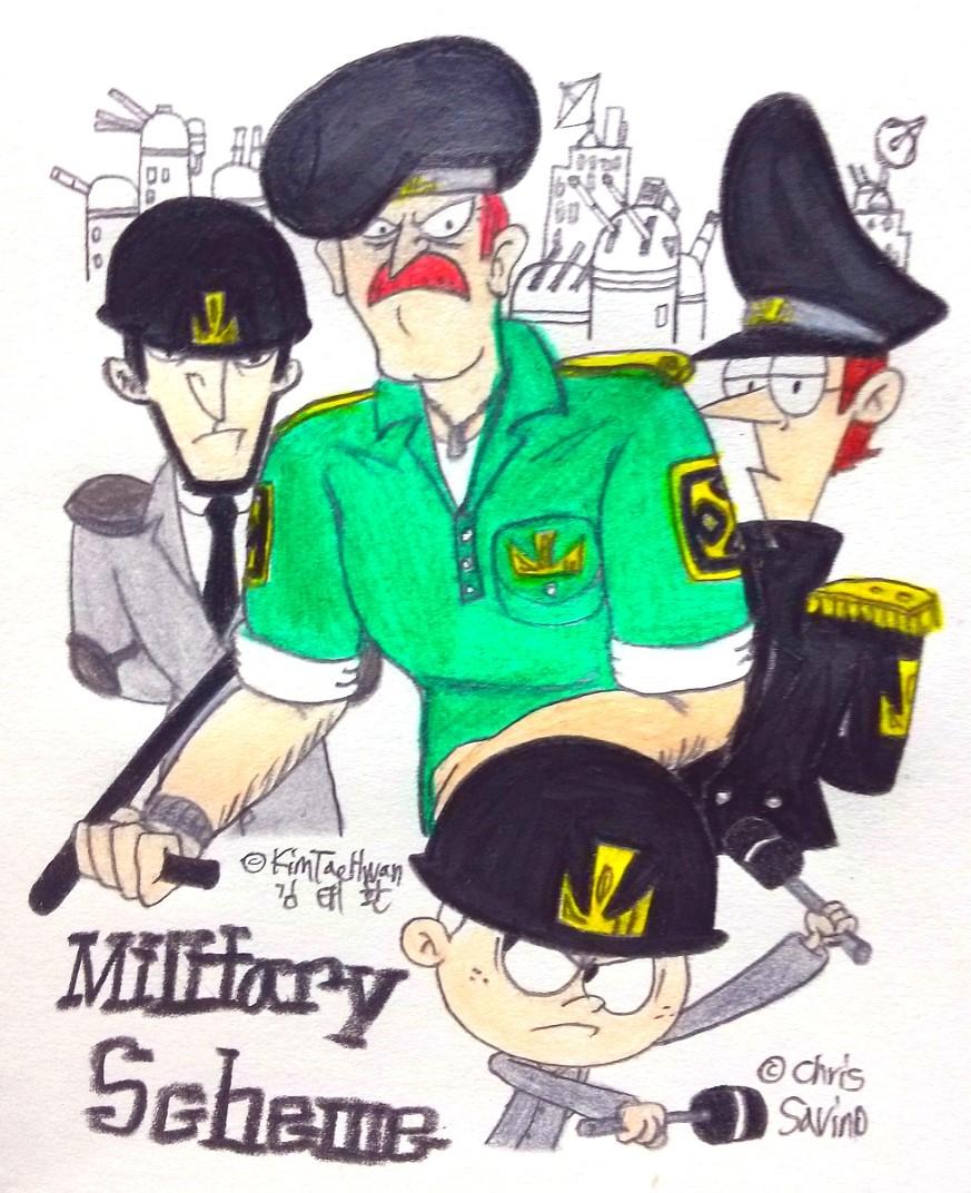 Military Scheme! by komi114