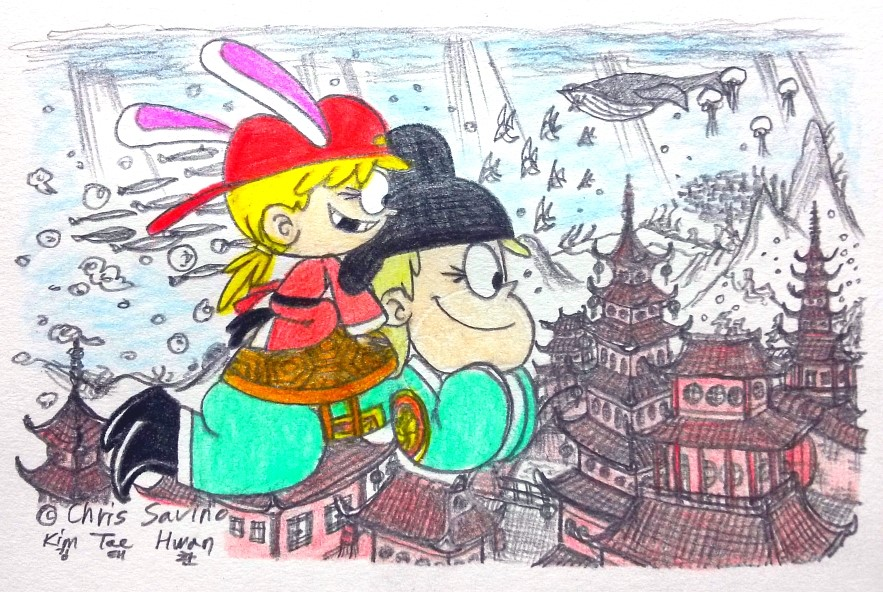 To the Dragon Palace! by komi114