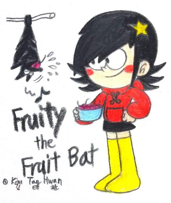 Stella's Pet Bat by komi114