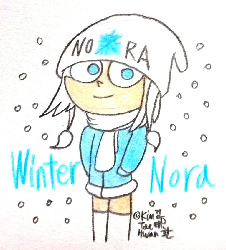 Nora the Winter Breeze by komi114