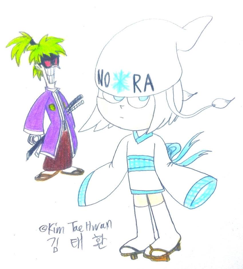 Nora as Yukionna by komi114