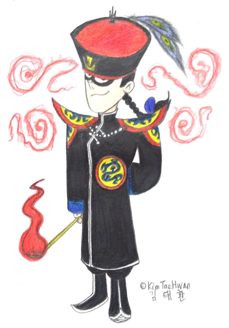 Manchurian Manager by komi114