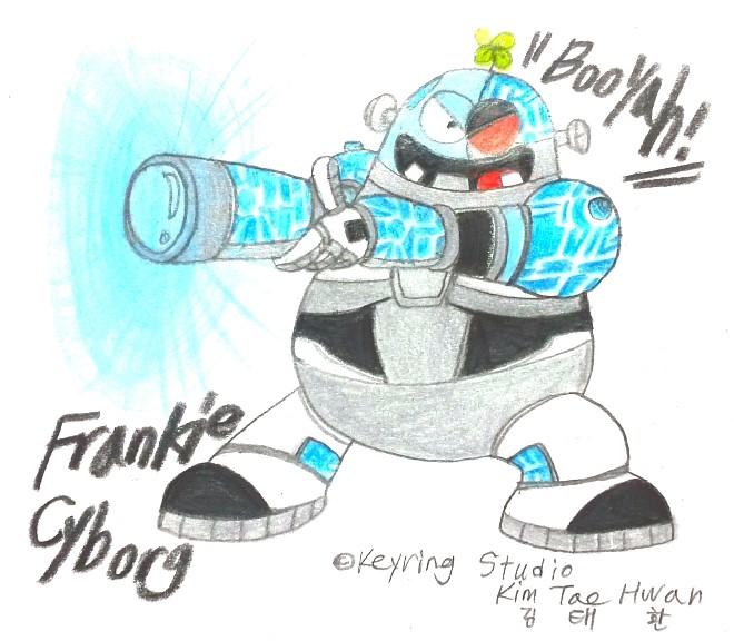 Frankie Cyborg by komi114