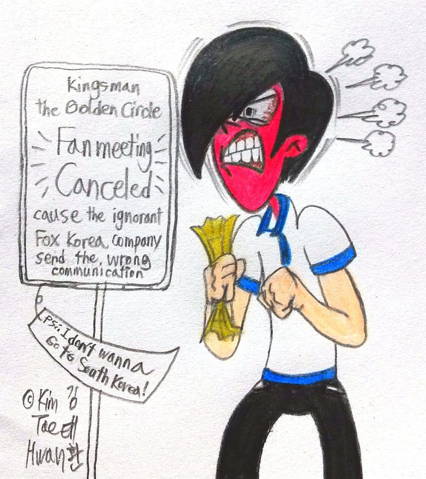 Curse You FOX Korea!!! by komi114