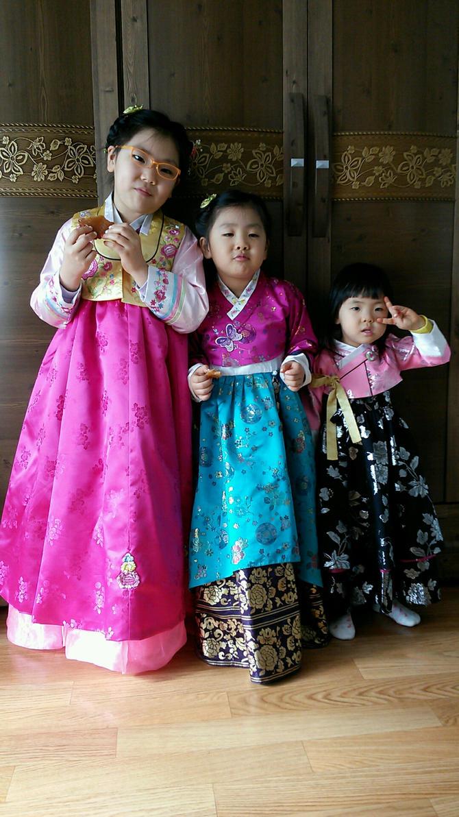 My Three Nieces by komi114