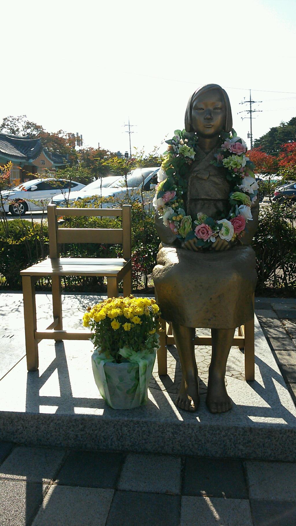 Comfort Woman Statue by komi114