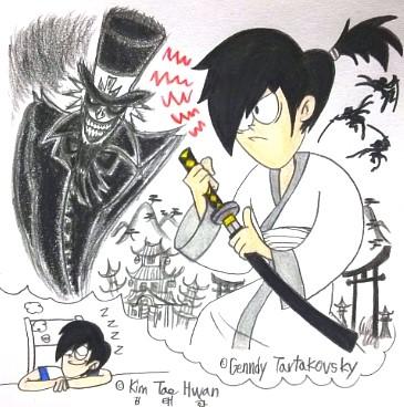 Dream to be Samurai Jack by komi114