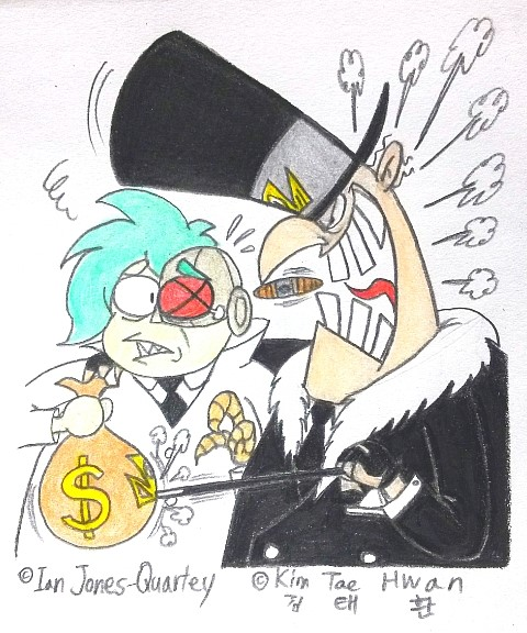 Lord Boxman the Debtor by komi114