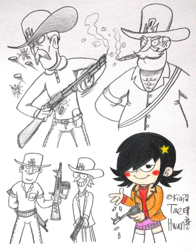 Stella in Gun Club from DMC by komi114