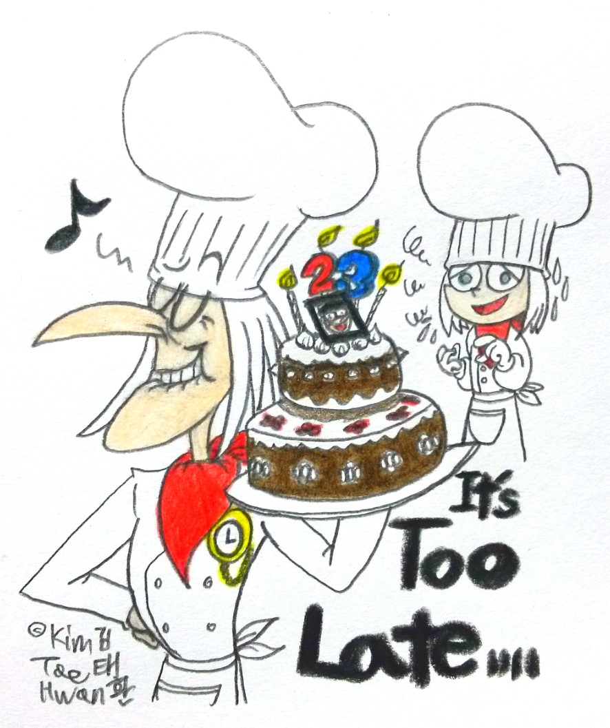 It's Too Late,Louis... by komi114