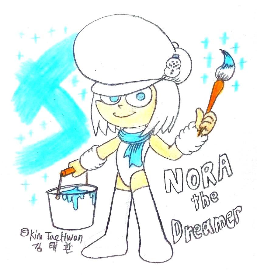 Nora the Art Dreamer! by komi114