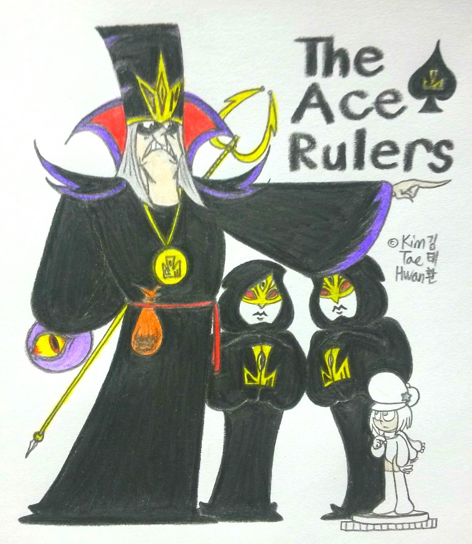 The Ace Rulers by komi114