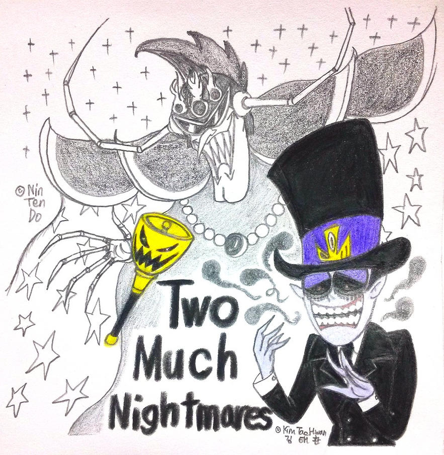 Two Much Nightmares by komi114