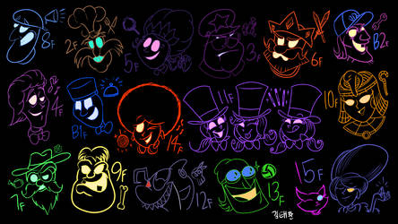 Luigi's Mansion 3 Boss Ghosts