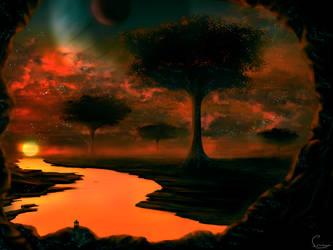 Savann of sun by SunayaART