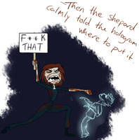 Mass effect 3 ending: Punching Holograms *SPOILERS by Fizzybopper