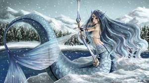 Winter Mermaid by Lukto