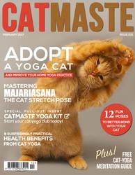 Catmaste Magazine Cover by eric-omuro