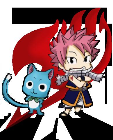 Chibi Natsu n Happy Fairy Tail colored by zarondoel on ...  Chibi Natsu n H...