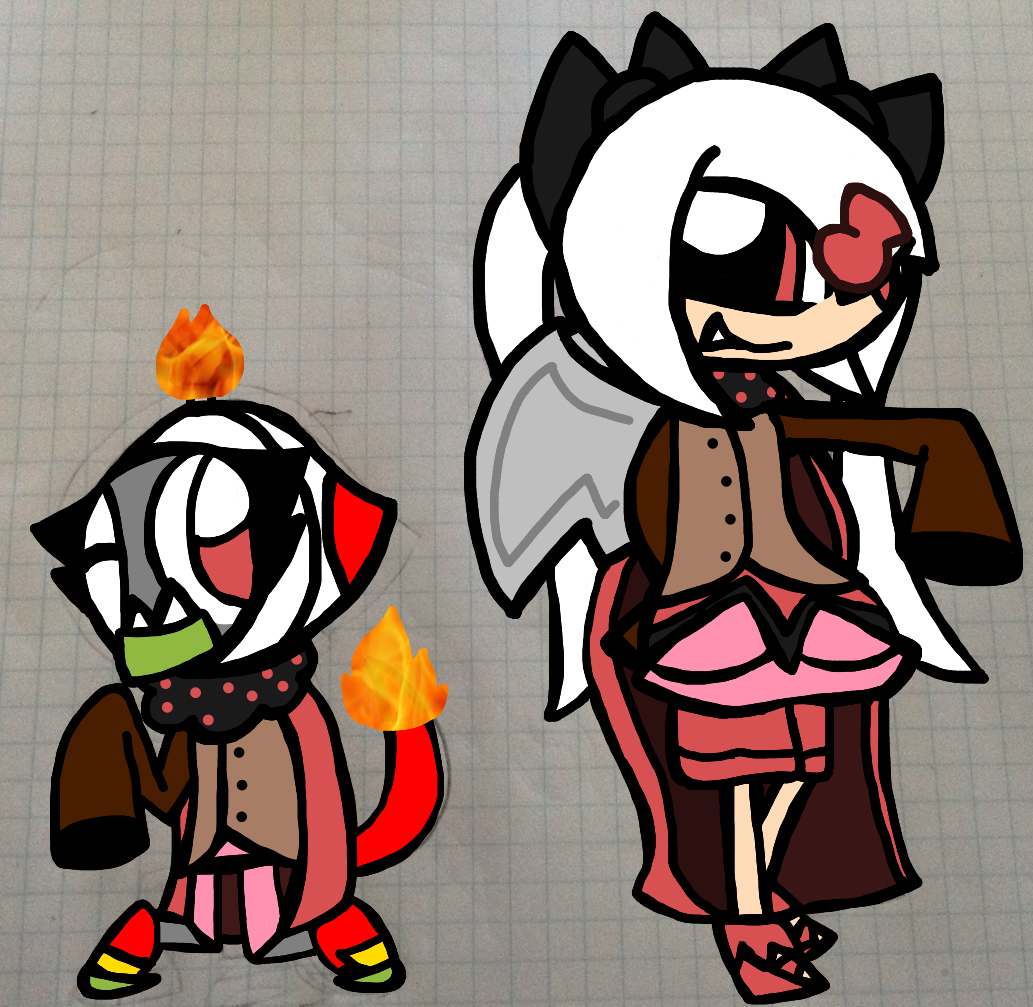 contest entry 3 3 the two witches by inferniteaura21 on deviantart