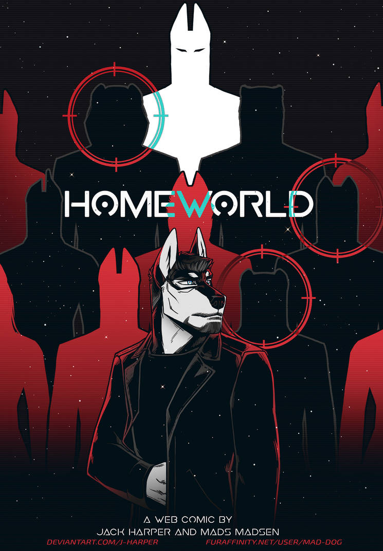 HOMEWORLD Main Cover #1
