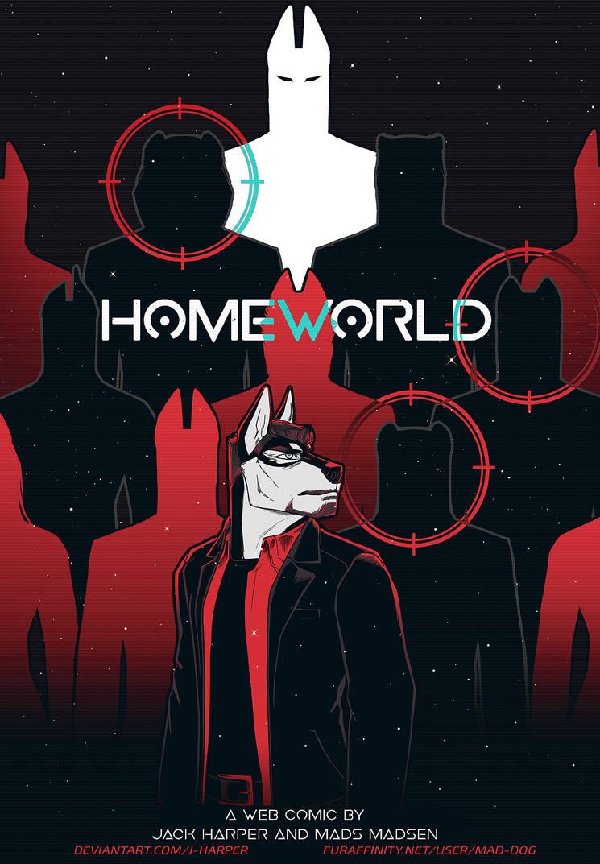 HOMEWORLD Main Cover #1 by J-Harper