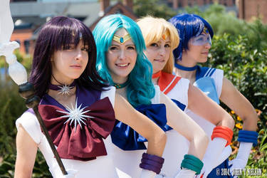Inner and Outer Senshi