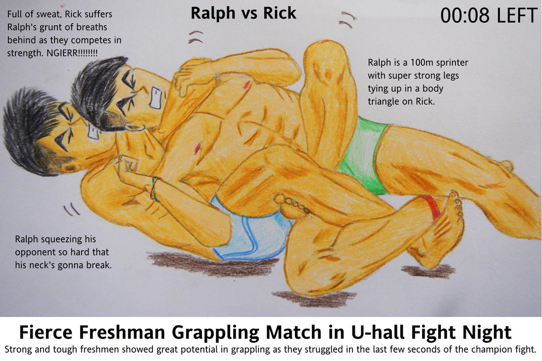 tight rear naked choke