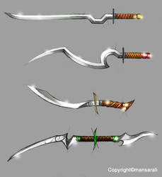 Special Swords Concept by mansarali