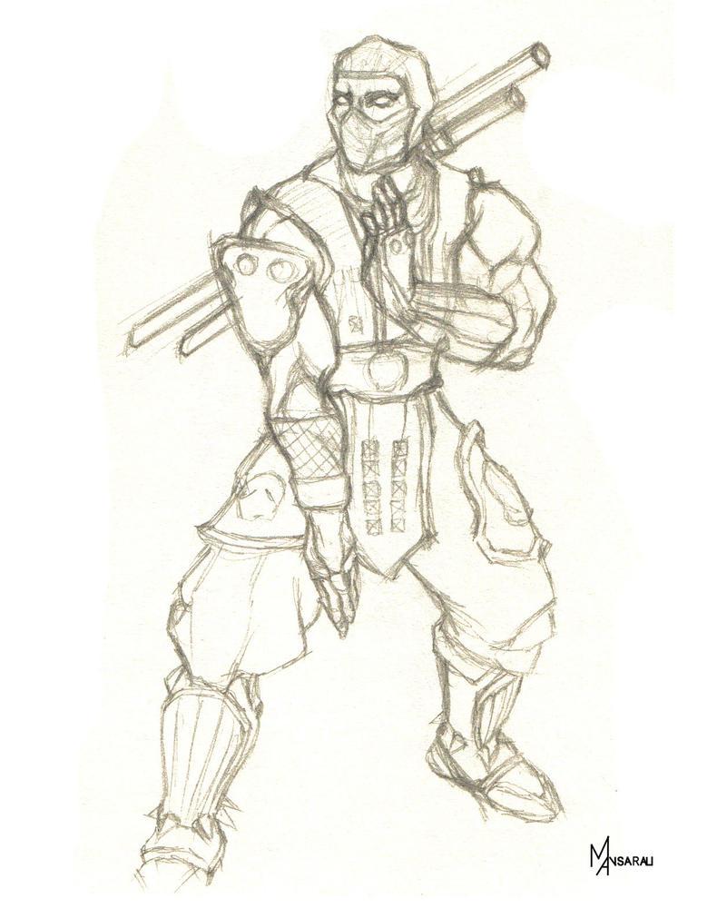 Mortal Kombat Raiden Drawings Drawings Of Mortal Kom...