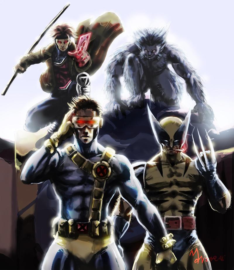 X-Boys by mansarali