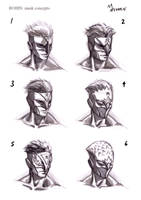 Future Robin mask concepts by mansarali